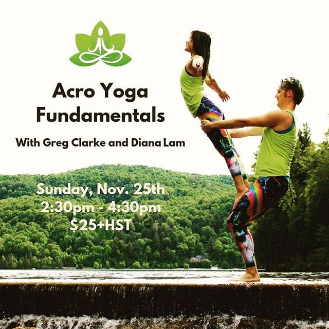Thinking About Trying Acro But Too Shy To Come To Friday Classes Come Join Us At Our Acroyoga Fundamentals Workshop This Sunday Upwar Acro Yoga Acro Laughter
