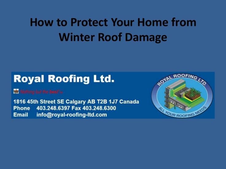 How to protect your home from winter roof damage