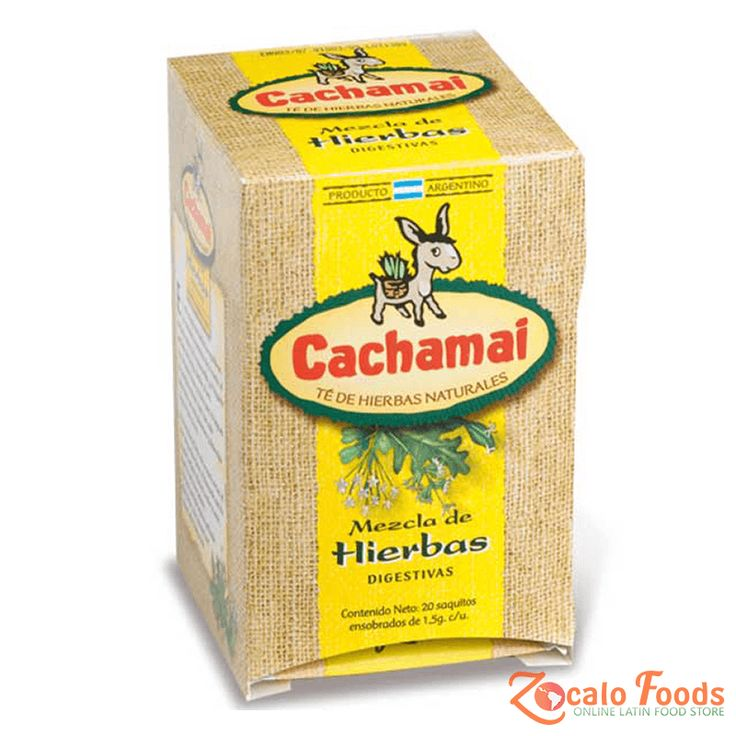 Cachamai Mezla de Hierbas Digestivas 20ct