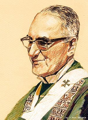 Remembering Óscar Romero, who was killed March 24, 1980, for standing for the poor.