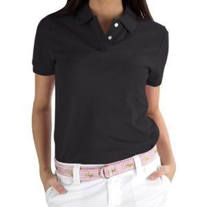 Nantucket Brand WMDKT-BSL-XL Stretch Pique Polo Shirt- Black-Sleeve Label Size XL by Nantucket Brand. $48.00. Innovative - will enhance your well being.. A classic, must-have for any wardrobe, this stretch pique polo shirt is made from 94% cotton/6% spandex. All available with or without logo embroidery.