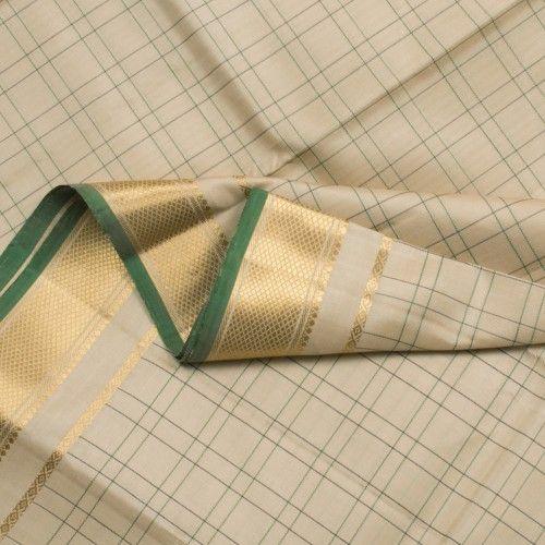 Kanakavalli Handwoven Kanjivaram Silk Sari 001075 - Sari / Kanjivarams - Parisera