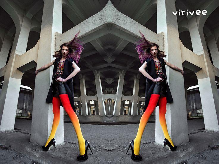 Virivee Campaign 2013  #tights #pantyhose