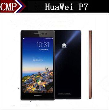 """Оригинал HuaWei Ascend P7 4G LTE Мобильного Телефона Кирин 910 Т Quad Core Android 4.4 5.0 """"FHD 1920X1080 2 ГБ RAM 16 ГБ ROM 13.0MP"""