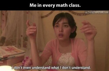 """The original post said, """"yes yes yes"""". Girls Can do well in math but we are conditioned to believe otherwise."""