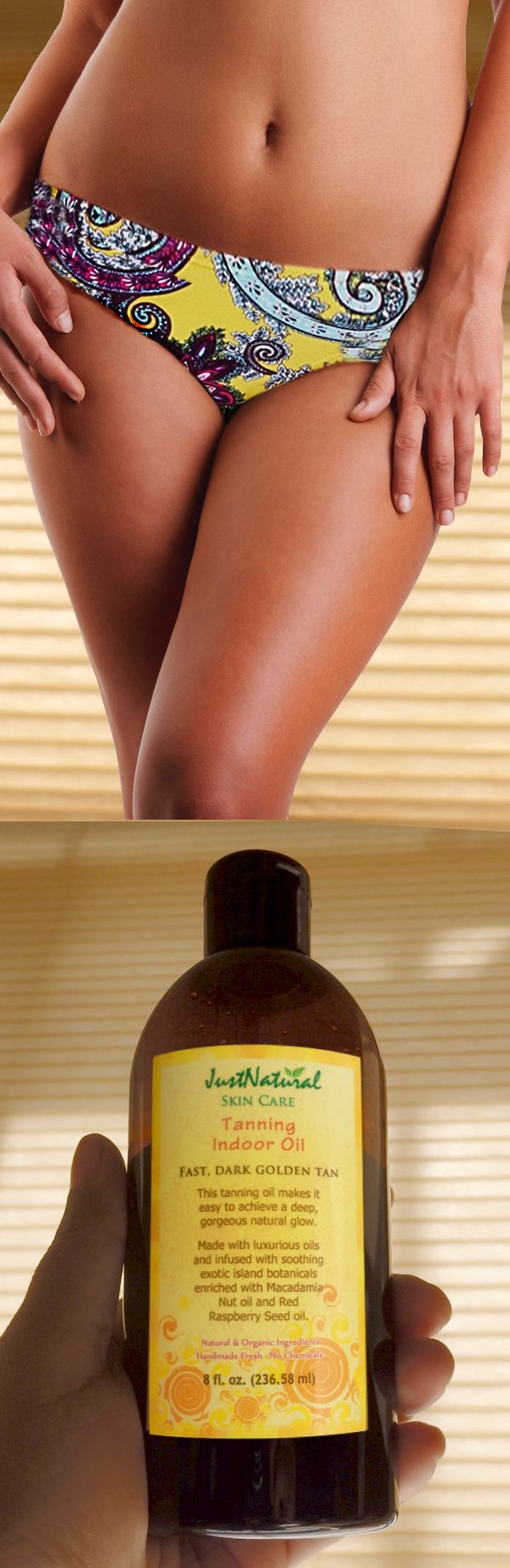 How To Make My Own Natural Indoor Tanning Oil