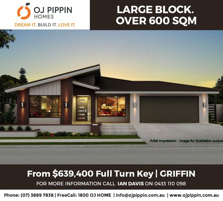 HOUSE OF THE WEEK #hotw HARD TO FIND. LARGE BLOCK - OVER 600 SQM. | Griffin