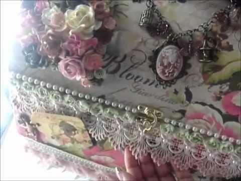 ▶ Wild Bunch - Victorian Butterfly Garden Chest - Kelly - YouTube