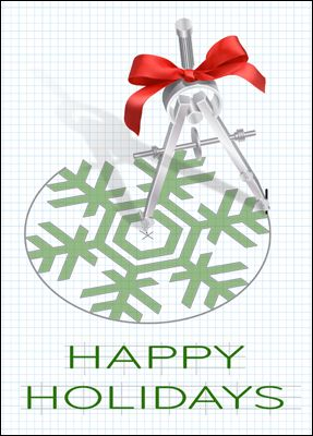 Holiday Cards Compass And Engineers Jpg 287x400 Happy Birthday Card Engineering