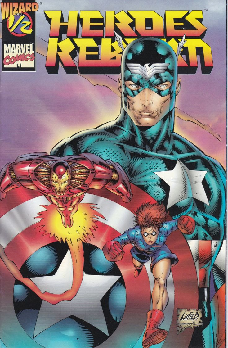 Heroes Reborn 1/2, July 1996 Issue - Marvel Comics - Grade V/F