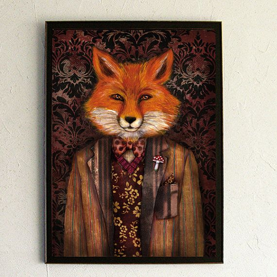 Portrait of the mysterious Lord Fox