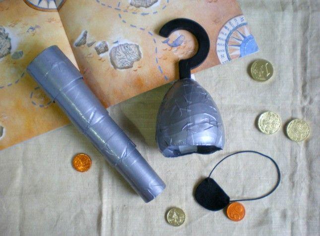 costume pirata accessori