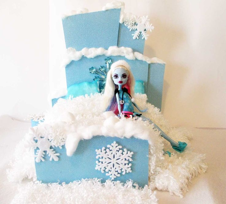 How to make a Abbey Bominable Doll Bed Tutorial/Monster High