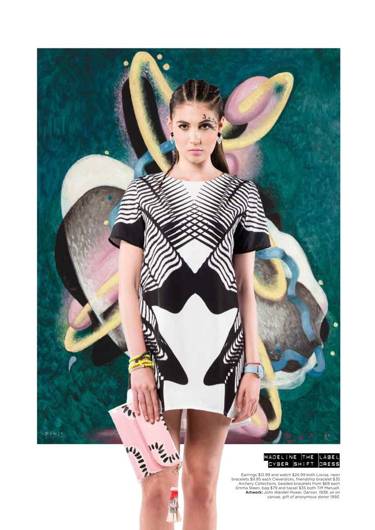 Madeline the Label Cyber Dress in Aspire Mag- Shop on Etsy