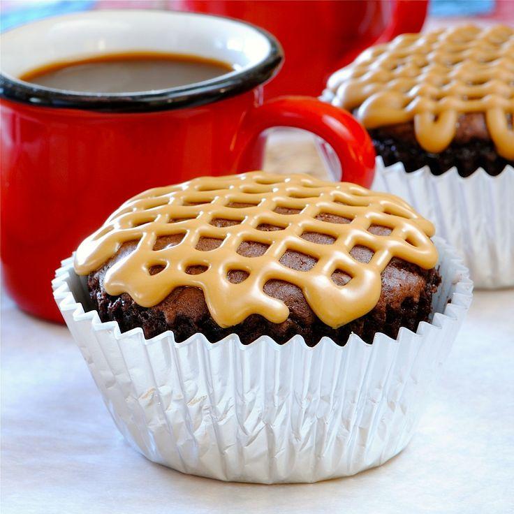 JULES FOOD...: Triple Chocolate Mocha Cupcakes - almost sugar free