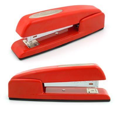 red swingline stapler for your basement office