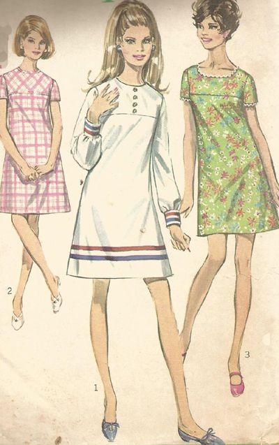 Simplicity Vintage Dress Pattern
