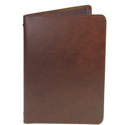 Grained Leather Effect Ramsey Menu Cover