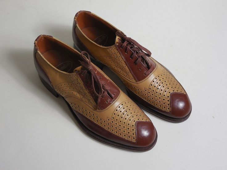 Mens Vintage Bowling Style Shoes