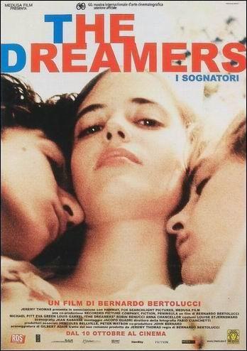 The dreamers = Soñadores de Bernardo Bertolucci, Reino Unido, 2003