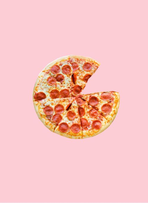 pizza aesthetic food backgrounds pastel pink party cards valentine background wallpapers di imagem farewell theberry articolo
