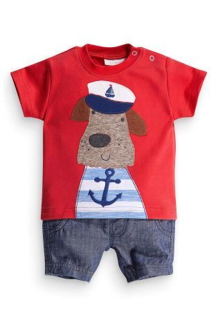 Buy Red Dog Denim Short Romper (0-18mths) online today at Next: United States of America