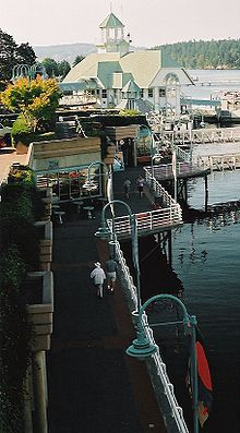 Nanaimo Harbour boardwalk - Nanaimo is where my friend grew up, so I will have one of the best tour guides around
