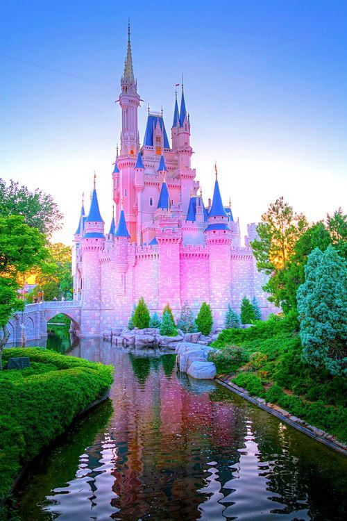 disney disney world castle cinderella magic kingdom WDW ...
