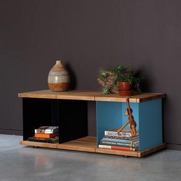 Konstantin Slawinski Yu Set 1 Multifunktionsregal #Regal #Beistelltisch #Regalwand #Büchergestell #Holz #Wohnen #Galaxus