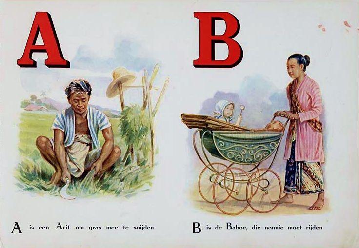 Het oude Indisch ABC