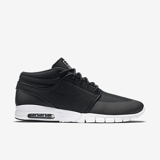 MAXIMUM FLEXIBILITY The Nike SB Stefan Janoski Max Mid Men's Skateboarding  Shoe is designed with a