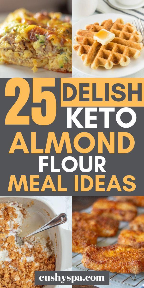 25 deliciosas ideas de harina de almendras Keto