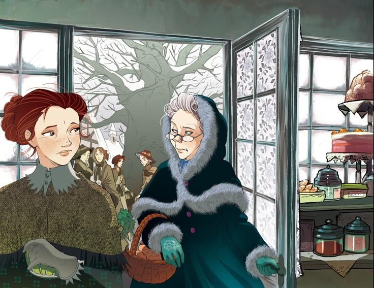 Fairy Oak-Dahlia Periwinkle and LilacTomelilla
