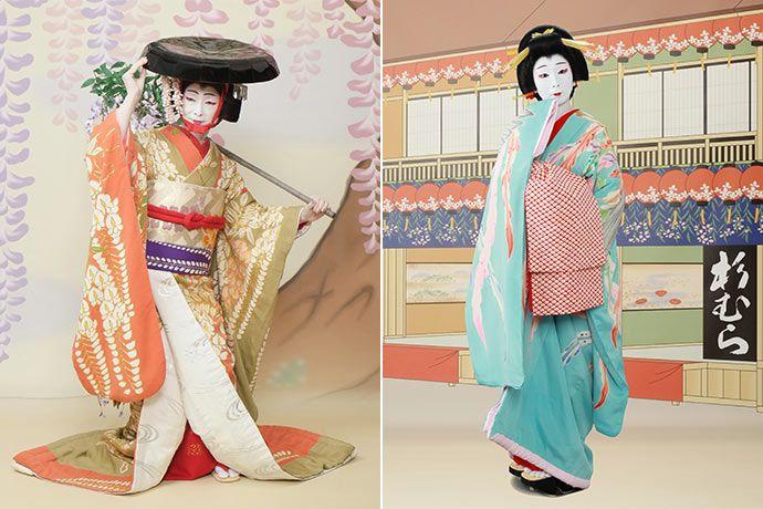 Dress in KABUKI costume
