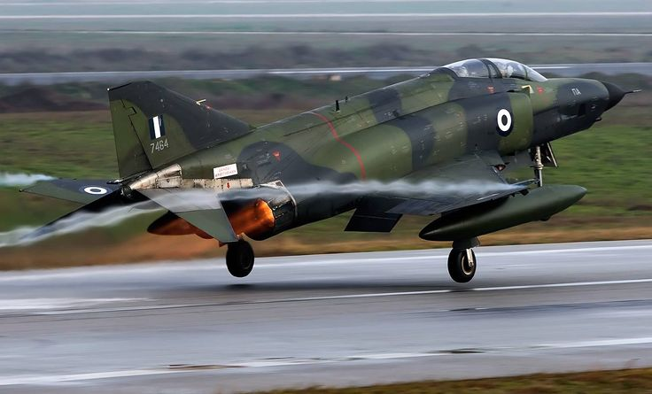 "HAF RF-4E Phantom II, 348 Squadron ""Matia""."