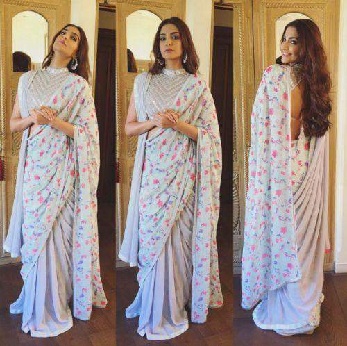 sari draping styles
