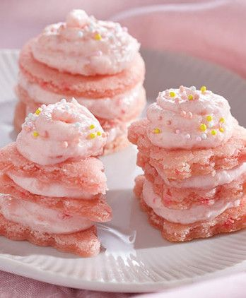 walmart cookie cake these delicate pink lemonade mini cookie cakes are 8354