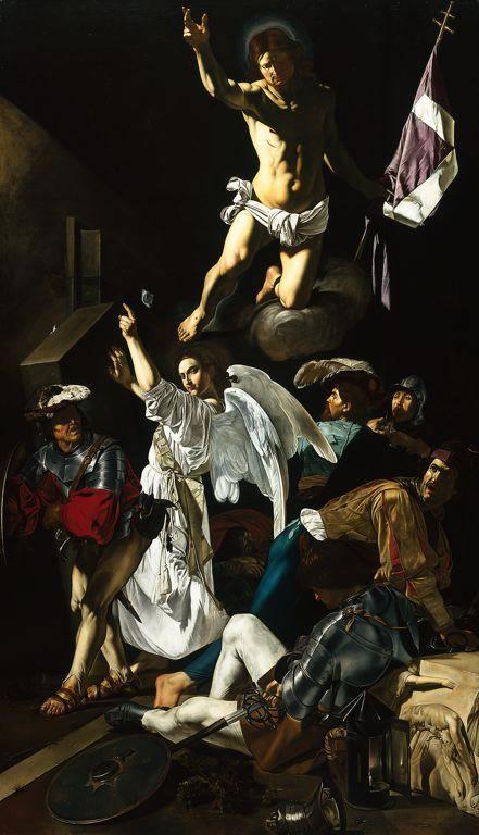 Caravaggio - The Resurrection ▓█▓▒░▒▓█▓▒░▒▓█▓▒░▒▓█▓ Gᴀʙʏ﹣Fᴇ́ᴇʀɪᴇ ﹕ Bɪᴊᴏᴜx ᴀ̀ ᴛʜᴇ̀ᴍᴇs ☞  http://www.alittlemarket.com/boutique/gaby_feerie-132444.html ▓█▓▒░▒▓█▓▒░▒▓█▓▒░▒▓█▓
