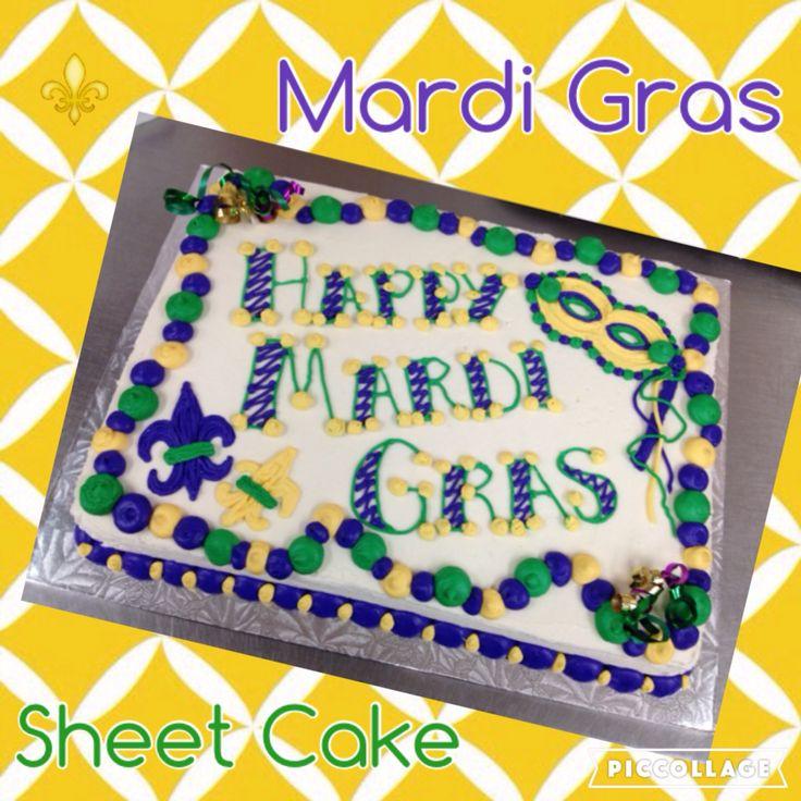 Gold Sheet Cake