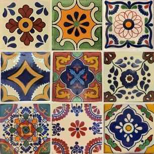Decorative Mexican Tiles, Moroccan and Mexican Ceramic Tiles by Old World Tiles