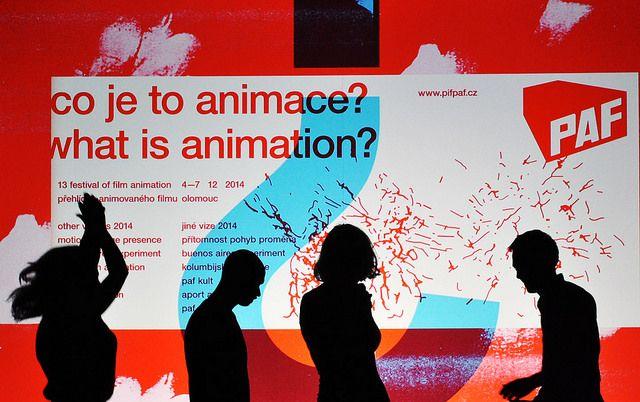 Animation in action!/Slavnostní zakončení/ festival poster / foto: Gabriela Knýblová/ http://www.pifpaf.cz/cs/zakonceni-paf-2014