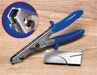 metal cutter tool. sheet metal shear cuts steel, brass, copper and aluminum the unique design like cutter tool s