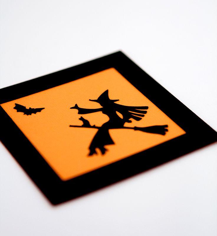 Vrajitoare cu magnet Halloween