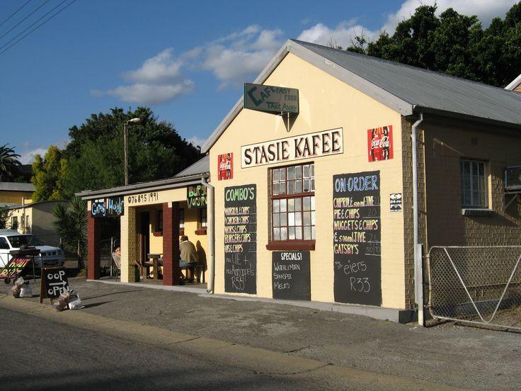 Different Architectural Designs in Montagu South Africa - Die Stasie Kafee