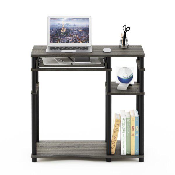 Antigo Desk Bookshelf Desk Desk Black Computer Desk