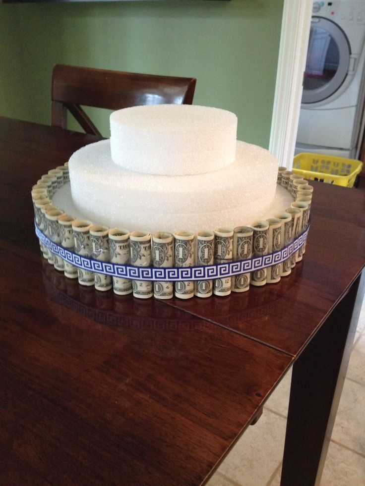 Best 9 money cake money gift ideas images on pinterest holidays and events - Money cake decorations ...