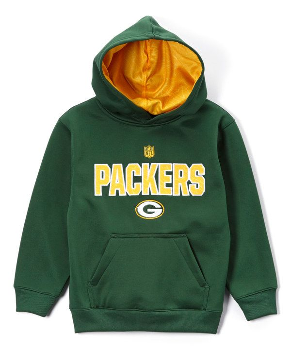 Look at this Green Bay Packers Flex Performance Fleece Hoodie - Boys on #zulily today!