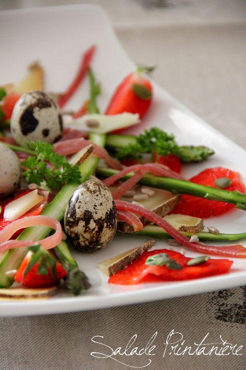 Salade Printanière au jambon de  Bayonne
