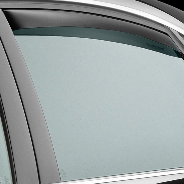 WeatherTech 81554 Series Dark Smoke Rear Side Window Deflectors - Side Window Deflectors WeatherTech(R) Side Window Deflectors, offer fresh air enjoyment with an original equipment look, installing within the window channel. They are crafted from the finest 3mm acrylic material available. Installation is quick and easy, with no exterior tape needed. WeatherTech(R) Side Window Deflectors are precision-machined to perfectly fit your vehicle's window channel. These low profile window deflectors…