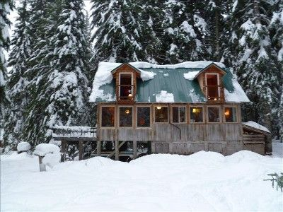 Merveilleux Hood Rental Cabin At Government Camp, Oregon   Cross Country Ski And  Snowshoe Cabin On Mt.